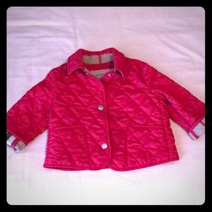Burberry girl pink Padded Coat